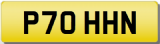 JOHN P  Private Cherished Registration Number JON JONNY JONATHAN JONO JOHNSON